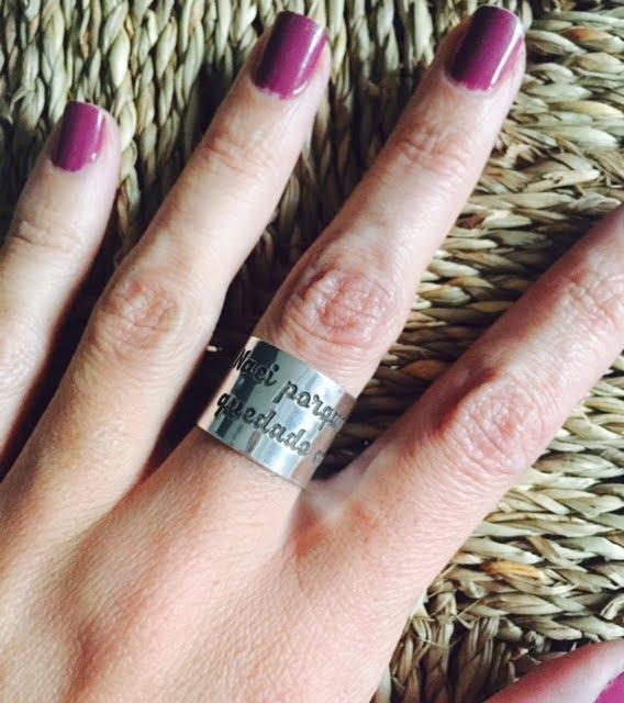 anillo personalizado