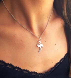 collar flamenco plata
