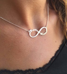 collar infinito