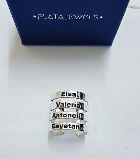 anillo nombres