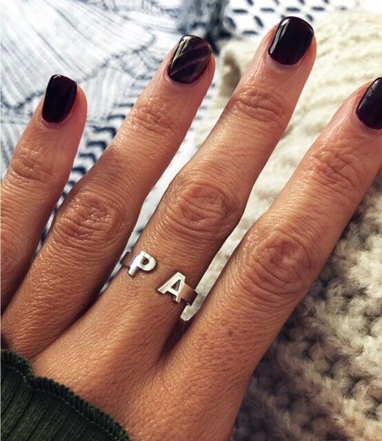 anillos personalizados