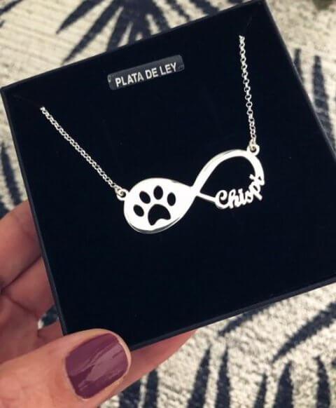 collar infinito mascotas