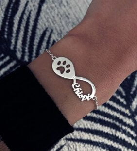 pulsera infinito mascota